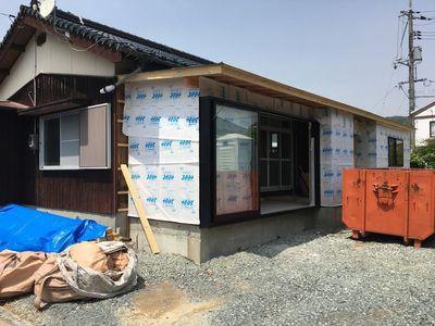 山口市吉敷の家改修工事⑥