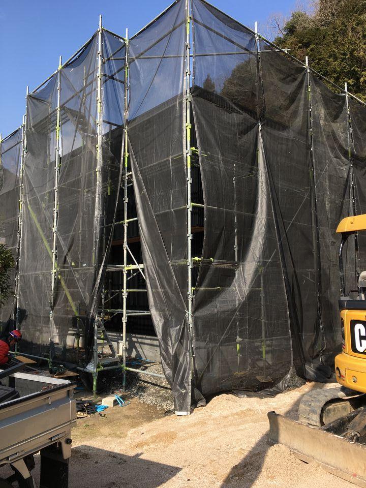 錦町府谷の家⑥ 外壁工事