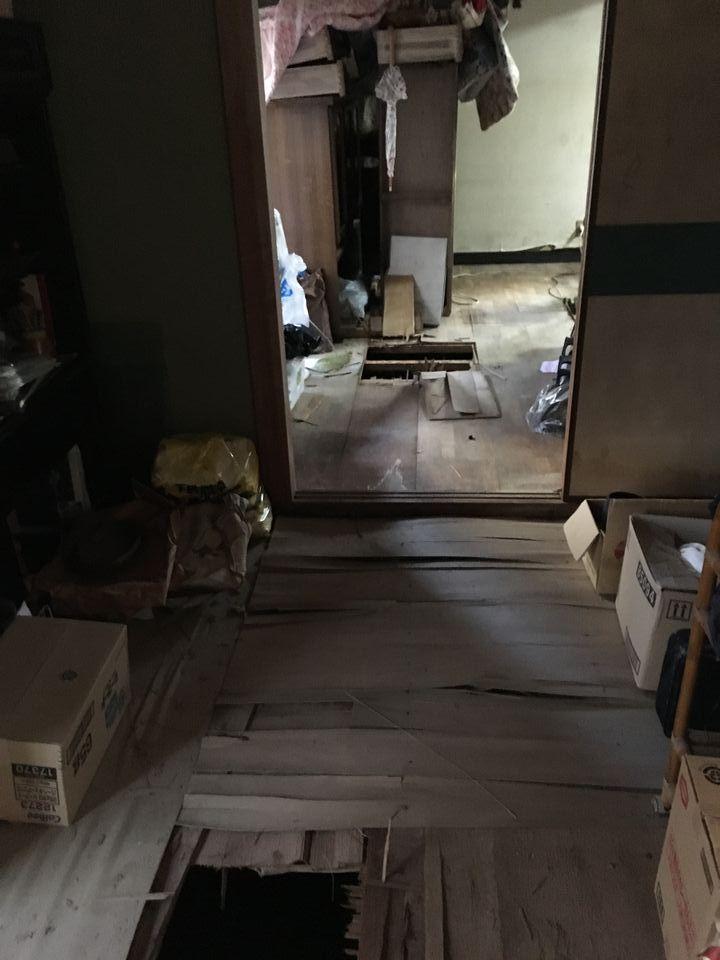 M様邸 床改修工事