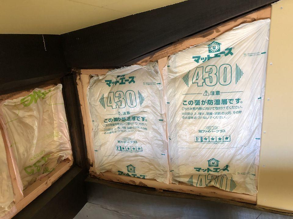 豊浦町の古民家改修工事④